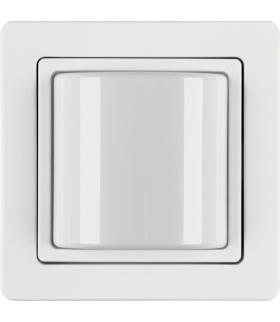 Q.1 System przywoławczy Sygnalizator świetlny z ramką, biały aksamit Berker 52036089