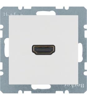 S.1/B.3/B.7 Gniazdo HDMI, biały, mat Berker 3315421909