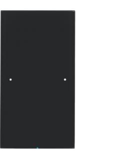 R.3 Sensor dotykowy 1-krotny,  szkło,  czarny