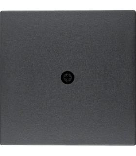 B.x Płytka czołowa do przyłączy kablowych, antracyt Berker 10191606