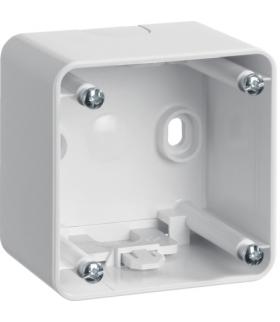 Integro Puszka natynkowa 1-krotna wysoka, biały, połysk Berker 9115109