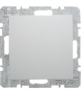 S.1/B.3/B.7 Zaślepka z płytką czołową, z cokołem i pazurkami, biały Berker 6710091909