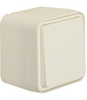 W.1 Łącznik krzyżowy, kompletny, IP55, biały Berker 30773502