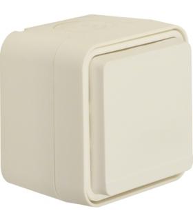 W.1 Gniazdo SCHUKO 2P+Z z przysłonami styków, kompletne, IP55, biały Berker 47633502