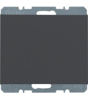 K.1 Zaślepka z płytką czołową, antracyt mat, lakierowany Berker 10457006