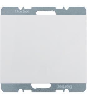 K.1 Zaślepka z płytką czołową, biały Berker 10457009
