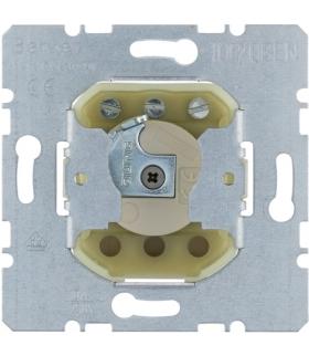 one.platform Łącznik żaluzjowy na klucz do wkładki patentowej zwierny 1-biegunowy, mechanizm, zaciski śrubowe Berker 383110