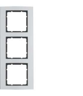 B.3 Ramka 3-krotna, alu/antracyt Berker 10133004
