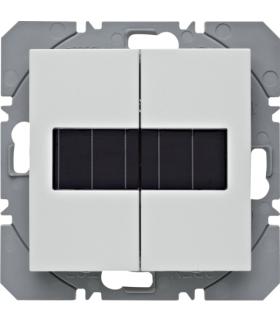 S.1/B.3/B.7 KNX RF Przycisk 2-kr płaski z baterią słoneczną Berker.Net, biały, mat Berker 85656188