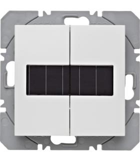 B.x/S.1 KNX RF Przycisk 2-kr płaski z baterią słoneczną Berker.Net, biały, połysk Berker 85656189
