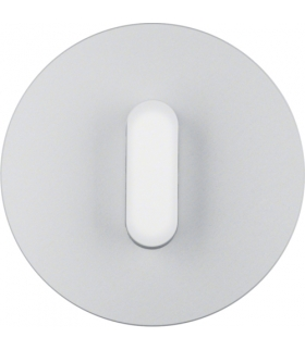 R.classic Płytka czołowa z pokrętłem do łącznika obrotowego, alu/biały Berker 10012074