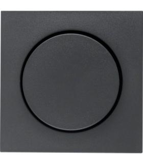 B.x Płytka czołowa z pokrętłem regulacyjnym do ściemniacza obrotowego, antracyt mat Berker 11371606