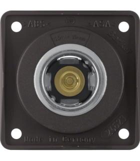 Integro Flow Gniazdo zasilania 12V, mechanizm, brązowy, mat Berker 845712501