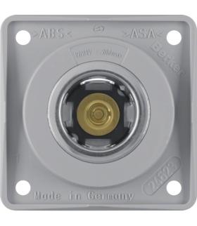 Integro Flow Gniazdo zasilania 12V, mechanizm, szary, połysk Berker 845712507