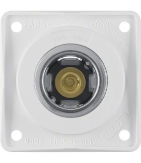 Integro Flow Gniazdo zasilania 12V, mechanizm, biały, połysk Berker 845712509