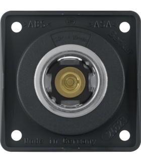 Integro Flow Gniazdo zasilania 12V, mechanizm, czarny, mat Berker 845712503