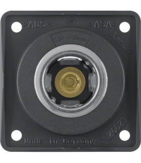Integro Flow Gniazdo zasilania 12V, mechanizm, antracyt, mat Berker 845712505
