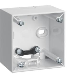 Integro Flow Puszka natynkowa 1-krotna wysoka, biały, połysk Berker 911512519