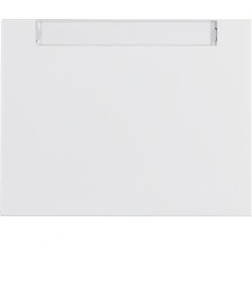 K.1 Klawisz z polem opisowym do łącznika 1-klawiszowego, biały Berker 14267009