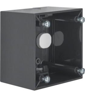 Integro Flow Puszka natynkowa 1-krotna wysoka, antracyt, połysk Berker 911512505