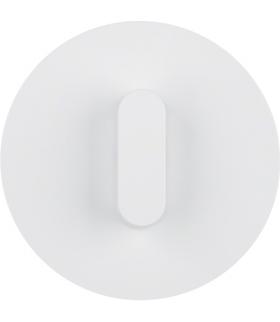 R.classic Płytka czołowa z pokrętłem do łącznika obrotowego, biały, połysk Berker 10012089