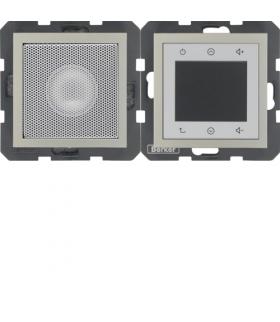 B.3/B.7 Radio Touch komplet, stal szlachetna, lakierowany Berker 28808916