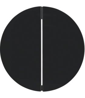 R.1/R.3 Klawisze do łącznika 2-klawiszowego, czarny, połysk Berker 16232045