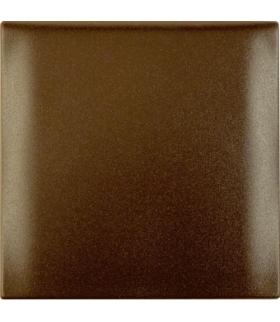 Integro Flow Ramka 1-krotna z pokrywą, brązowy, mat Berker 918282501