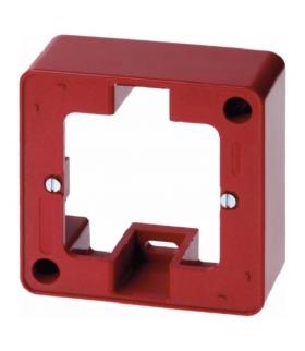 Akcesoria osprzęt Puszka natynkowa 1-krotna, czerwony Berker 10290062