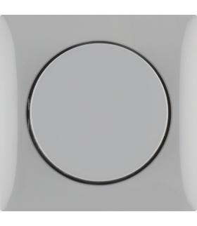 Integro Flow Elektroniczny potencjometr obrotowy 1-10 V z pokrętłem regulacyjnym, szary, połysk Berker 928912506