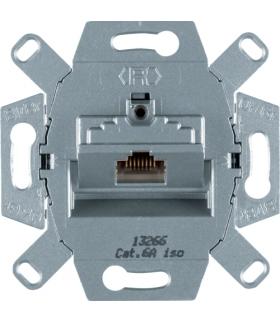 one.platform Mechanizm gniazda komputerowego UAE 1-kr (RJ45), ekranowane, kat.6a iso Berker 4586
