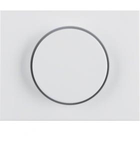 K.1 Płytka czołowa z pokrętłem regulacyjnym do ściemniacza obrotowego, biały Berker 11357009
