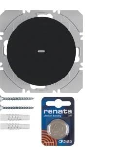 R.1/R.3 KNX RF quicklink Przycisk radiowy 1-kr płaski cz