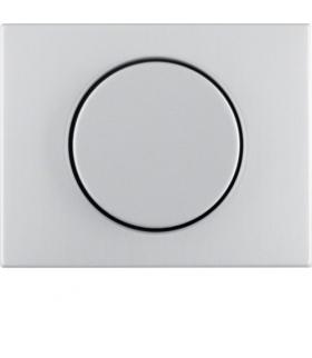 K.5 Płytka czołowa z pokrętłem regulacyjnym do ściemniacza obrotowego alu Berker 11357003
