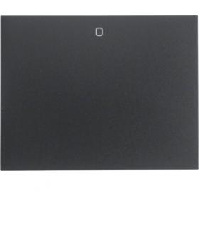 """K.1 Klawisz z nadrukiem """"0"""" do łącznika 1-klawiszowego, antracyt mat, lakierowany Berker 14257106"""