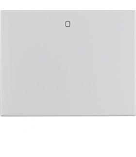 """K.5 Klawisz z nadrukiem """"0"""" do łącznika 1-klawiszowego, alu Berker 14257103"""