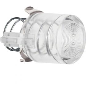 Serie 1930/Glas Przycisk do łącznika i sygnalizatora E10, jasny przezroczysty Berker 122902