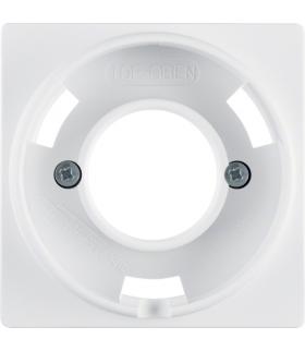 Q.x Płytka czołowa do sygnalizatora świetlnego E14, biały, aksamit Berker 11986089