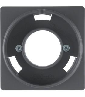 Q.x Płytka czołowa do sygnalizatora świetlnego E14, antracyt aksamit, lakierowany Berker 11986086