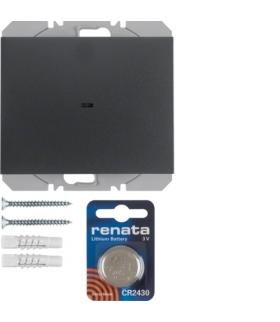 K.1 KNX RF quicklink Przycisk radiowy 1-kr płaski,  ant