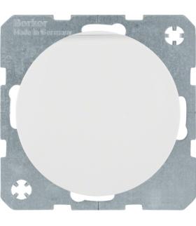 R.1/R.3 Gniazdo SCHUKO z pokrywą, samozaciski, biały, połysk Berker 47512089