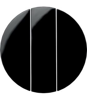 R.1/R.3 Klawisze do łącznika 3-klawiszowego czarny, połysk Berker 16652045