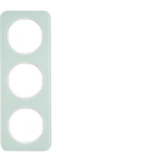 R.1 Ramka 3-krotna, szkło, biały Berker 10132109