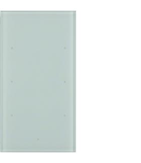 TS Sensor szklany dotykowy 3-krotny, szkło, biały Berker 168300