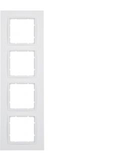 B.7 Ramka 4-krotna, biały, mat Berker 10146919