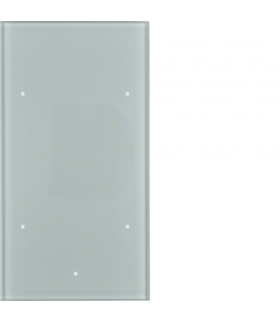 TS Sensor szklany dotykowy 2-krotny, szkło, alu Berker 168207
