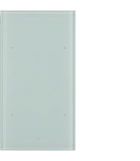 TS Sensor szklany dotykowy 2-krotny, szkło, biały Berker 168200
