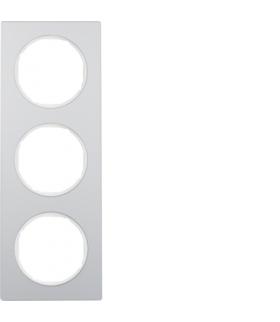 R.3 Ramka 3-krotna, alu/biały Berker 10132274