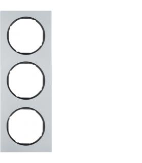 R.3 Ramka 3-krotna, alu/czarny Berker 10132284