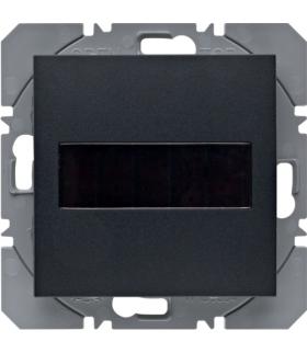 B.x/S.1 KNX RF Przycisk 1-kr płaski z baterią słoneczną Berker.Net, antracyt, mat Berker 85655185